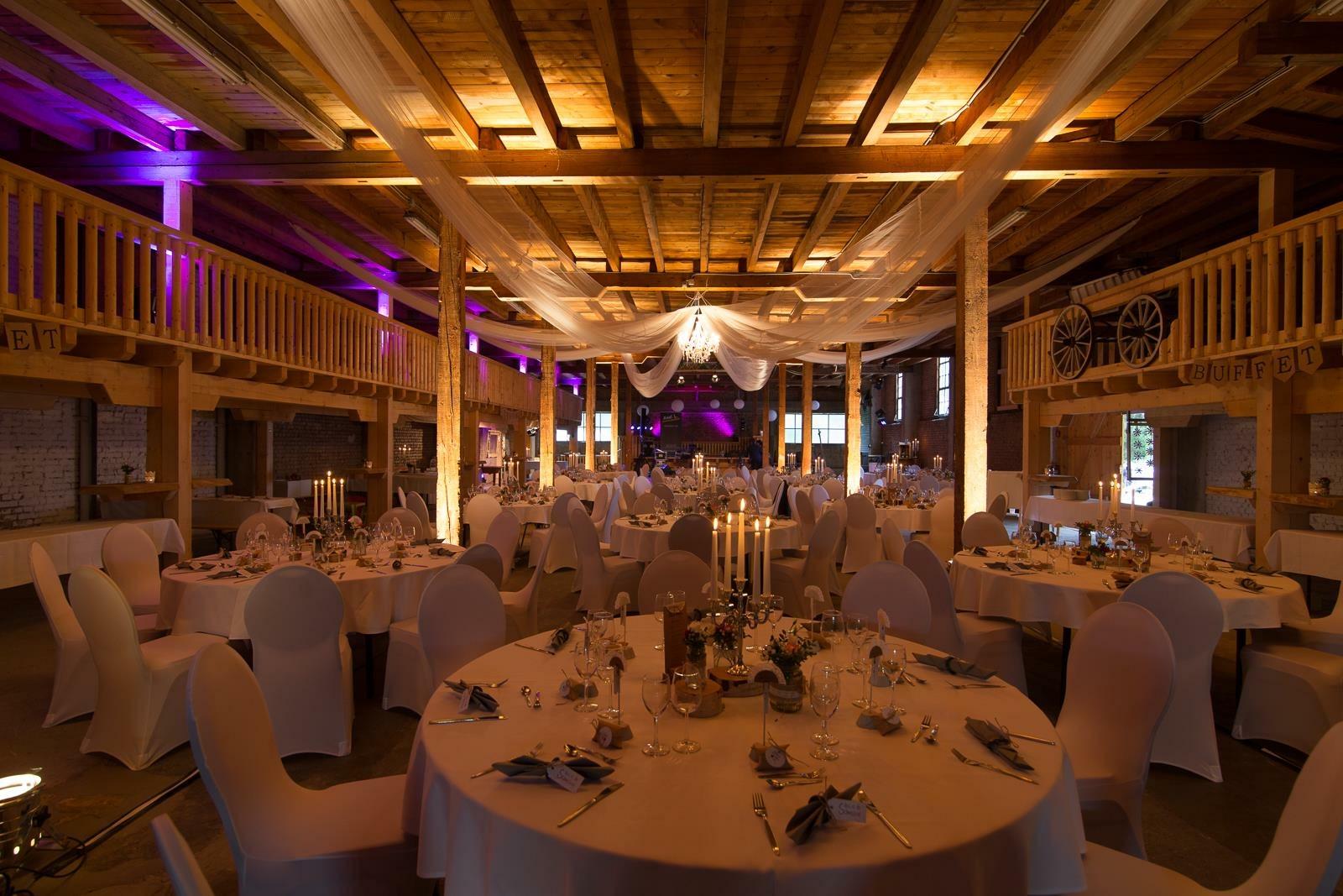Ambiente-Beleuchtung Hochzeit 2