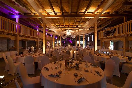 Lichttechnik bei Meier Eventservice, Hochzeit