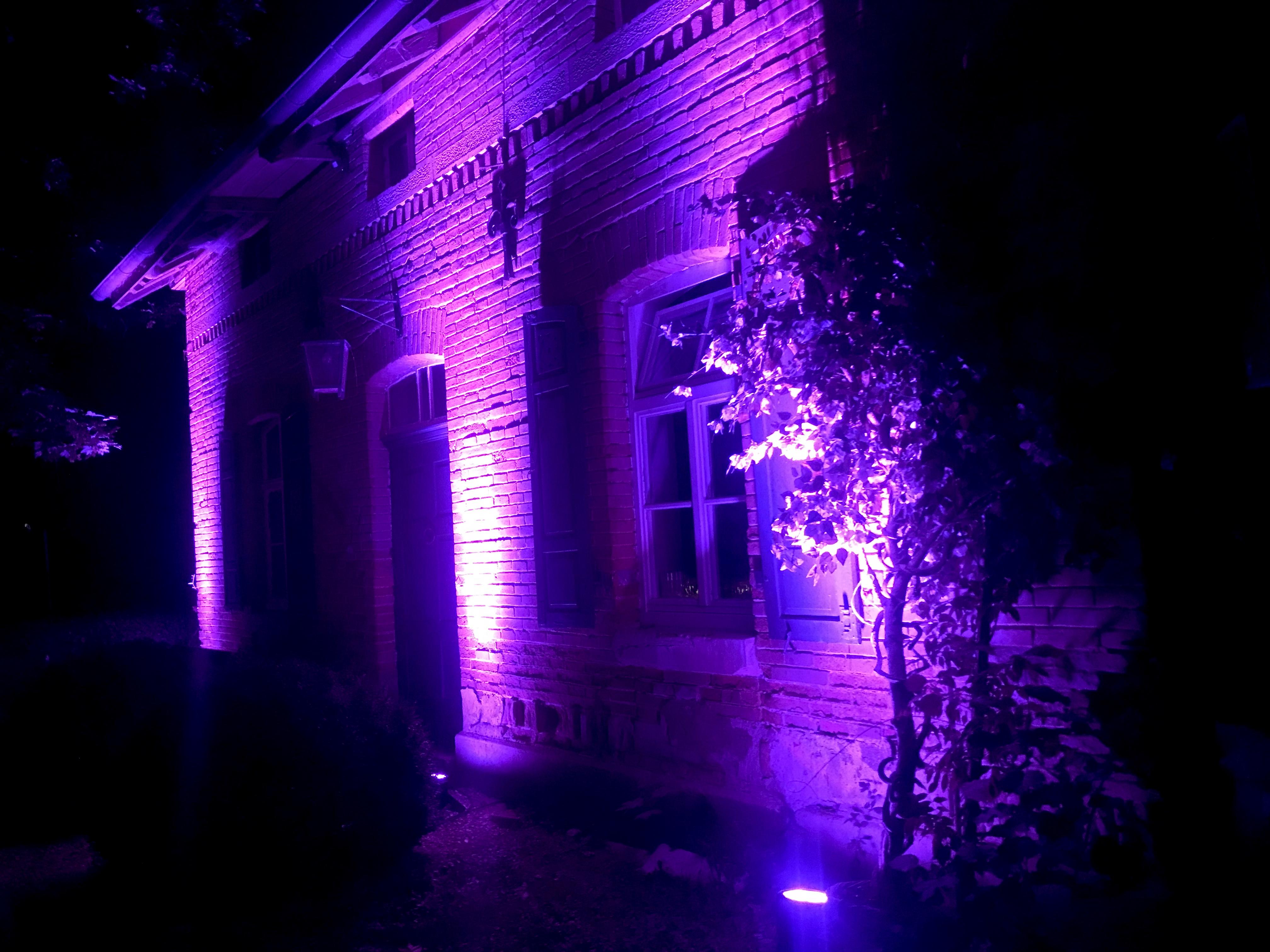 Beleuchtung | Burg Schaubeck