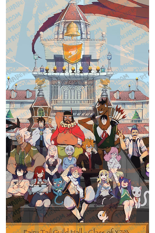 Fairy Tail Class Poster #2