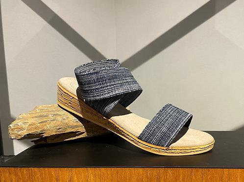 Denim Strappy Sandal