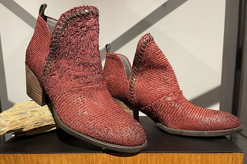 Venture Red Feather Bootie