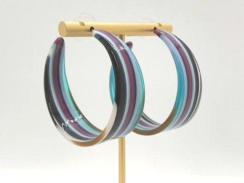 Color Me Purple Hoops