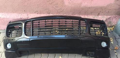 Передний сполер нижний Porsche cayenne 957 95550506110