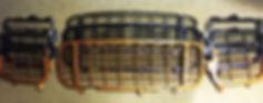 решетка в бампер на порше кайен турбо