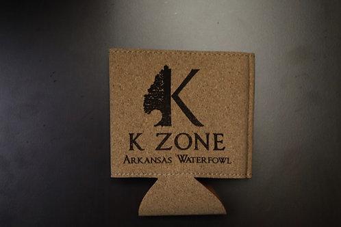 K Zone Cork Koozies