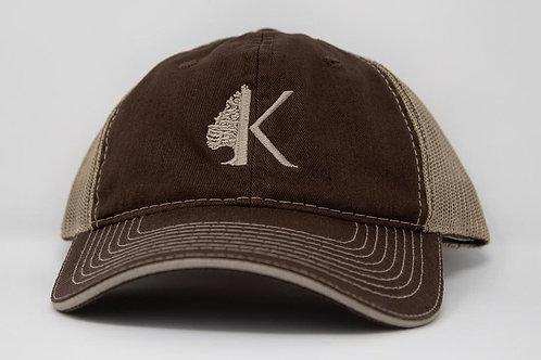 Brown/Tan Outdoor Cap