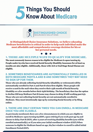 DCIS 5 Things You Should know about Medi
