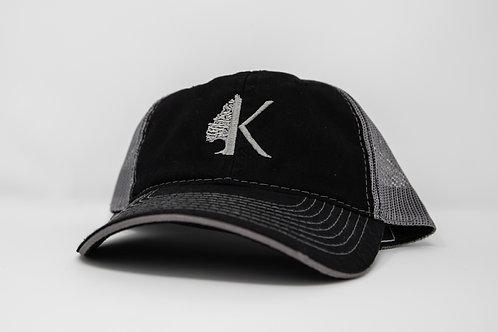 Black/Gray Outdoor Cap