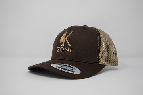 Brown/ Tan Snap Back