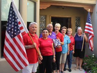 Woodmen of the World Charity donates flags to Honor Flight of Southern New Mexico