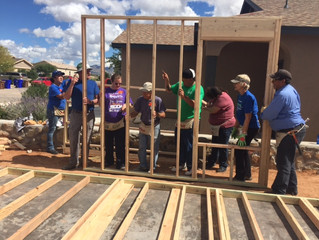 Habitat Home Dedication 2014