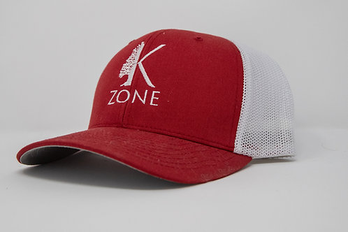 Red and White Richardson Snapback