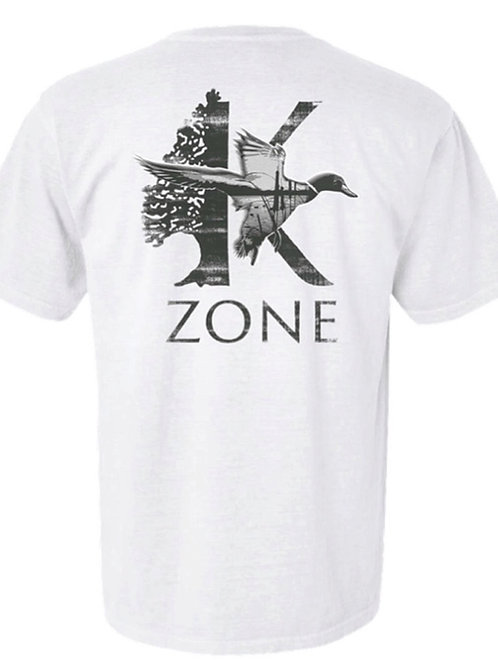 White K Zone/Mallard Comfort Color T Shirt