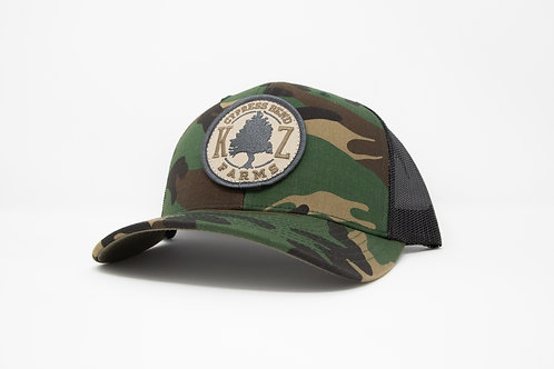 Cypress Bend Series- Old School Camo Patch SnapBack