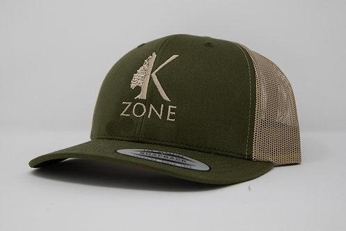 Green Snapback Hat