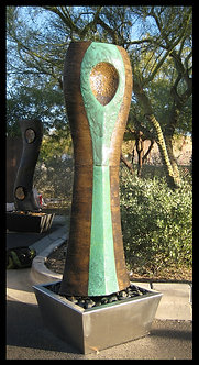 Flowing Presence Green-Bronze