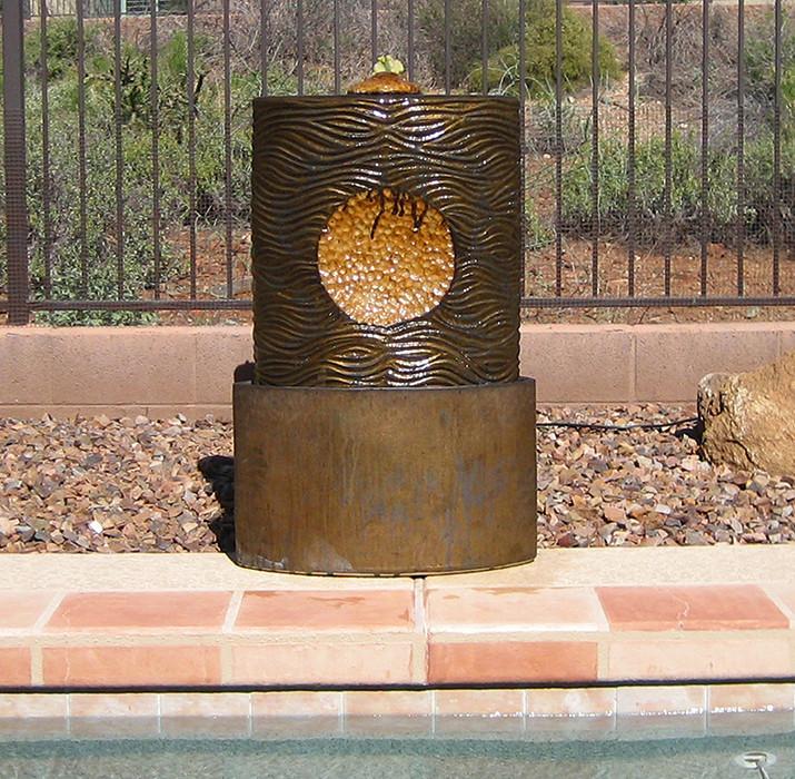 Bronze Outdoor Water Feature