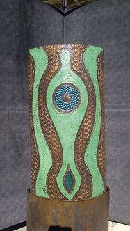 Green/Bronze Arabesque