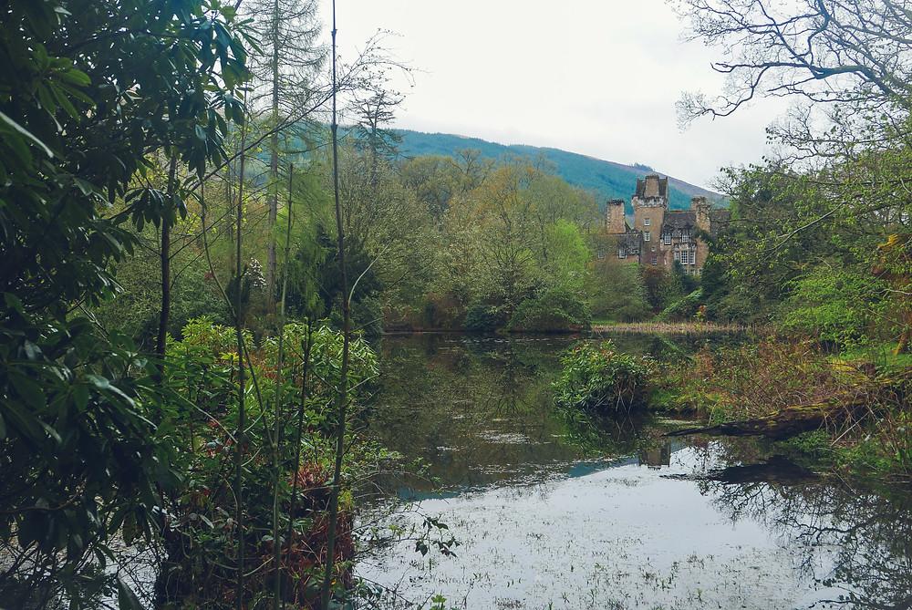 ardkinglas estate, loch fyne, argyll, scotland, loch, pond, lake
