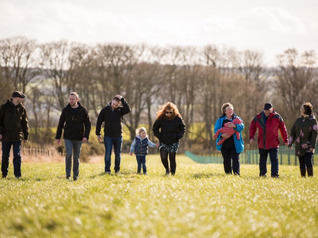Sunny & Warm Extended Family Photo Session, Brechin | Aberdeen Angus Family Business Photographer