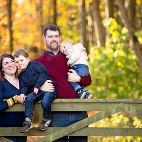Autumn Family Shoot in Aberdeen with Aberdeenshire Photographer
