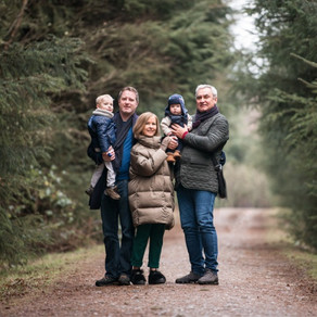This Is Us - Family Photo Session in  Denlethen Woods | Aberdeen Family Photographer