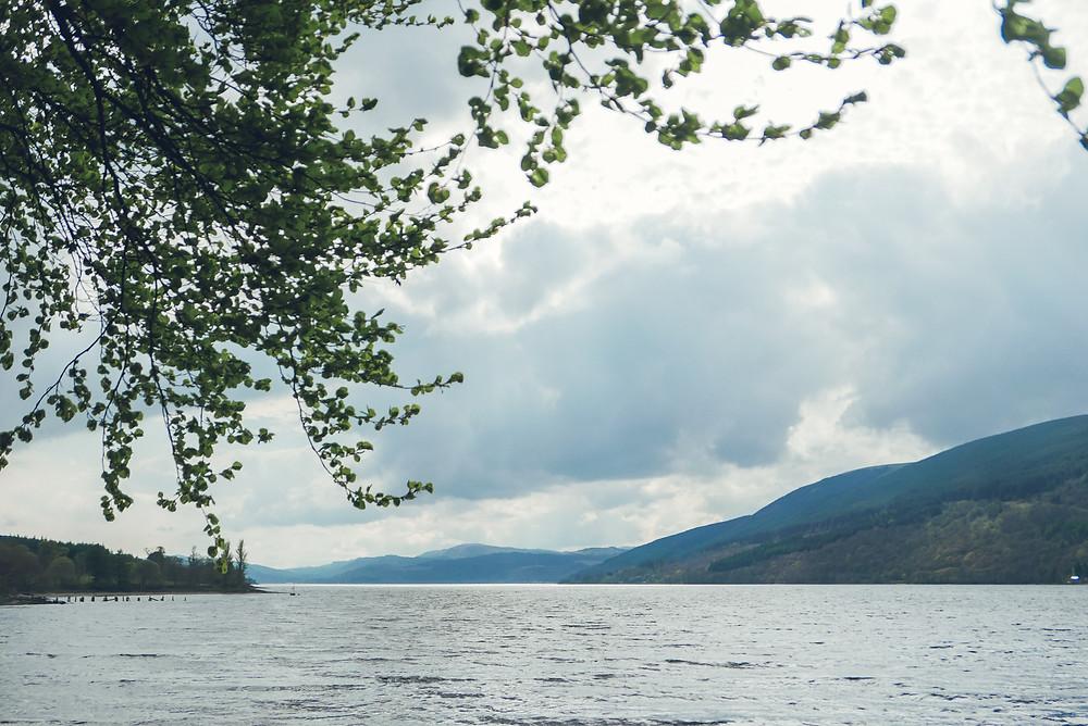 scotland, loch, loch fyne, lake, view, hill, mountain, ardkinglas estate, scapa fest