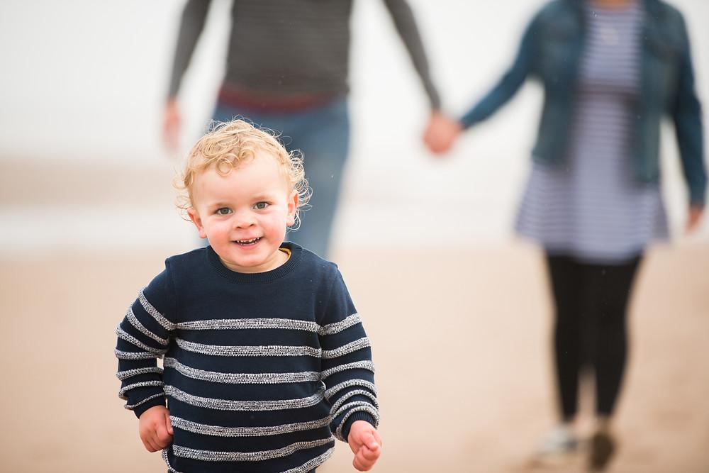 Best-aberdeen-family-children-photographer-montrose-arbroath-aberdeenshire-beach-st-cyrus-outdoors-boy-running-towards-camera