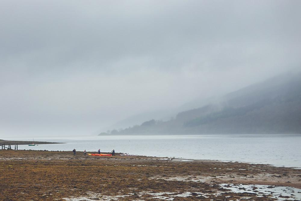 kayaking, loch fyne, scapa fest, argyll, ardkinglas estate, scotland, water sports