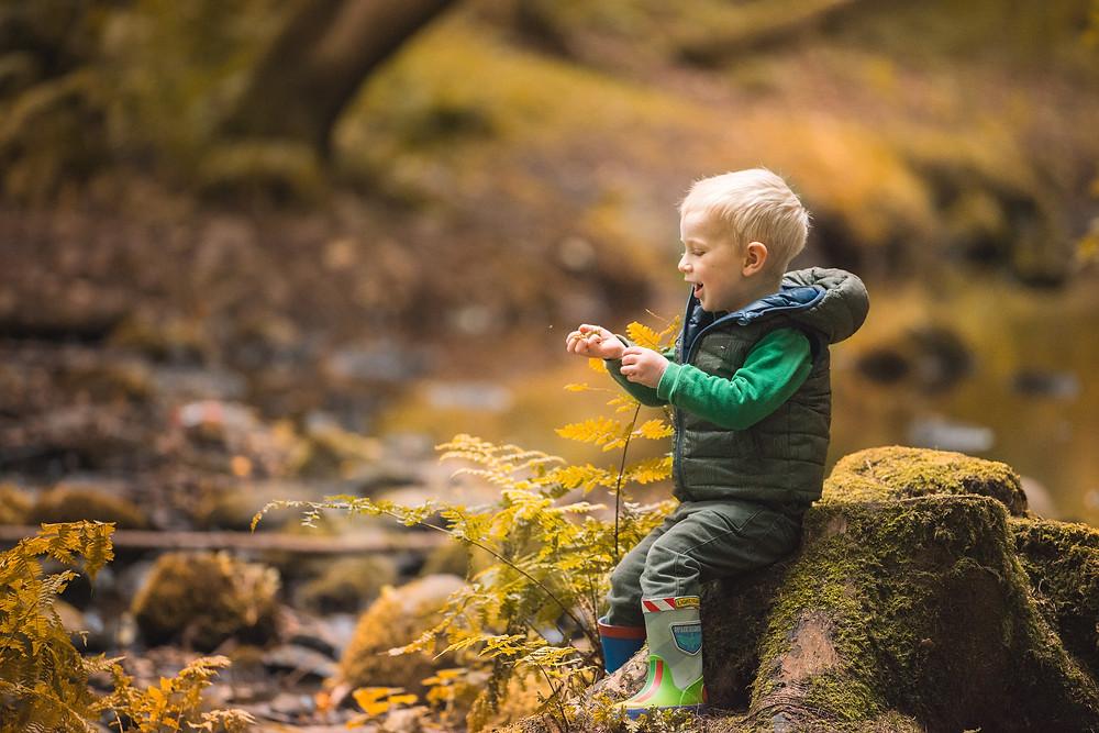 Best-aberdeen-family-children-photographer-montrose-arbroath-dunnottar-woods-stonehaven-boy-sitting