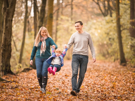 Family Photo Session in Dunnottar Woods, Stonehaven | Aberdeen Family Photographer