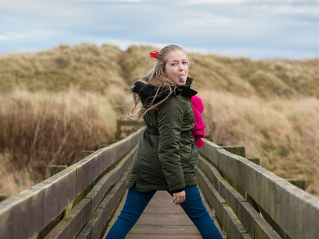 Learning Week - Day 1: Guiding Lightly | Aberdeen and Aberdeenshire Family Photographer