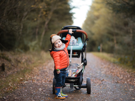 Tips on Woodland Portrait Photography in Winter Months | Aberdeen Family and Children Photographer