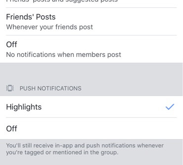 How To Adjust Facebook Groups Notifications | Aberdeen and Aberdeenshire Family Photographer