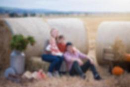 aberdeen-family-photoshoot-autumn-field-hay-bales-pumpkins-farm-westerton