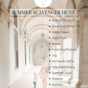 Summer Fun - Scavenger Hunt 2018 - are you in? | Aberdeen and Aberdeenshire Family Photographer
