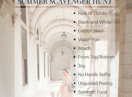 Photo Scavenger Hunt - Summer 2018 is ON! | Aberdeen and Aberdeenshire Family Photographer