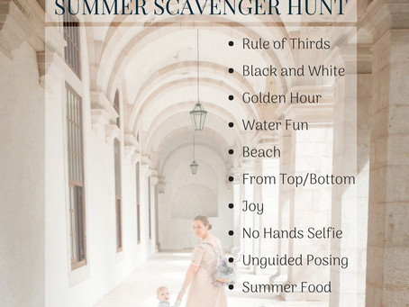 Summer Photo Scavenger Hunt - It's a Wrap! | Aberdeen and Aberdeenshire Family Photographer