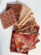 Civil War Fabric Salmon Peach Bundle