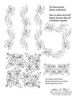 Leaf Pattern Fleur de Vine Pattern Pack