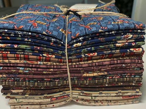 5 1/2 Yds.  Windham Prairie Winds Civil War Reproduction Fabric Collection