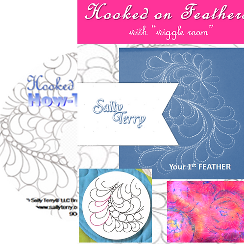 Free Motion Hooked on Feathers INSTRUCTION DVD