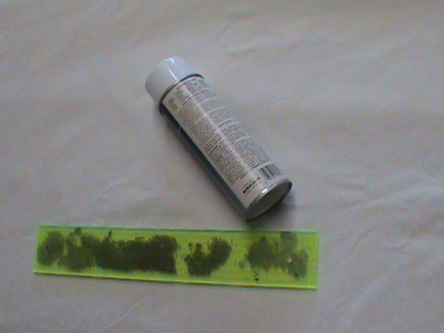 Using Fabric Adhesive on the back of Machine Quilting Rulers