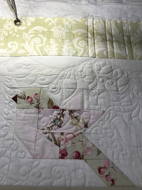Feathers Quilt Pattern And Shadow Rhythms Machine Quilting How To Video