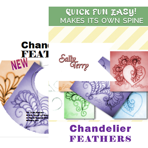 Free Motion Feather Fill and Meanders INSTRUCTION DVD