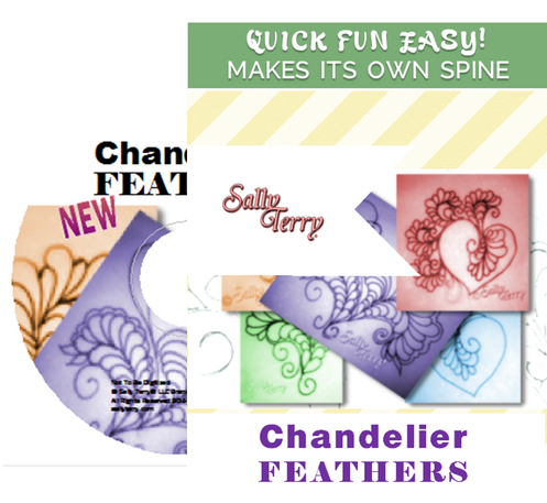 Free Motion Chandelier Feather Fill And Meanders Dvd