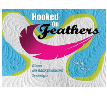 Hooked on Feathers Book by Sally Terry NEW SIGNED
