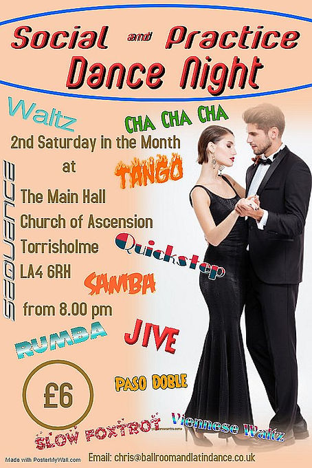 Social  Practice Dance Night 2x Sharper.