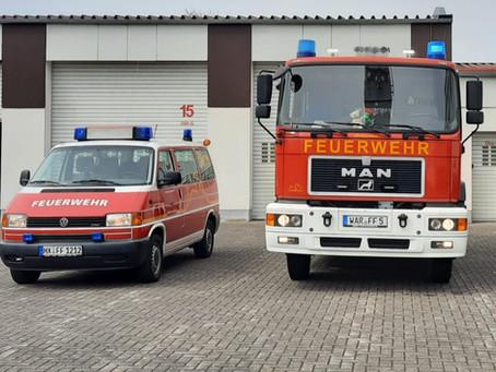 Neues Einsatzfahrzeug in der Feuerwache Desenberg